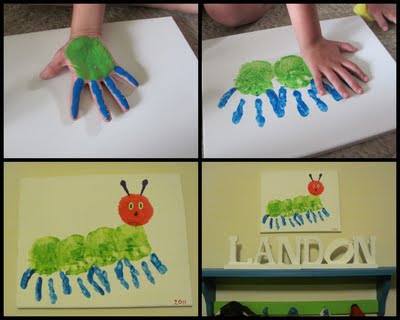 Five Things Friday: Crafts Inspired by The Very Hungry Caterpillar  (4/5)