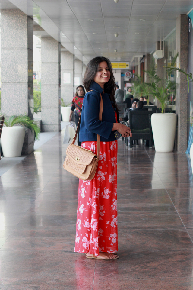 cdbec0c6f4380 Indian fashion Blog, Indian Fashion Blogger, Top Indian Street Style: Maxi  Dresses In January