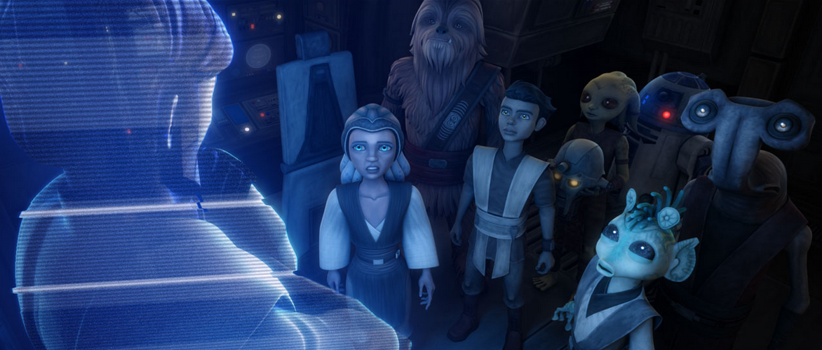 Star the clone wars season 5 episode 19 / The cat in the hat