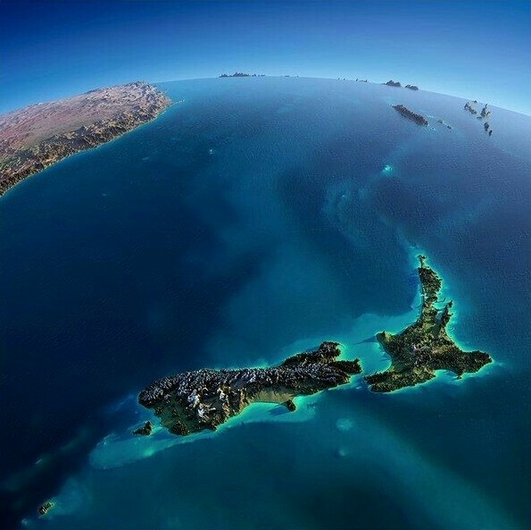 3d Map Of New Zealand.Geography Gk Notes Maps Current Affairs And News For All Classes