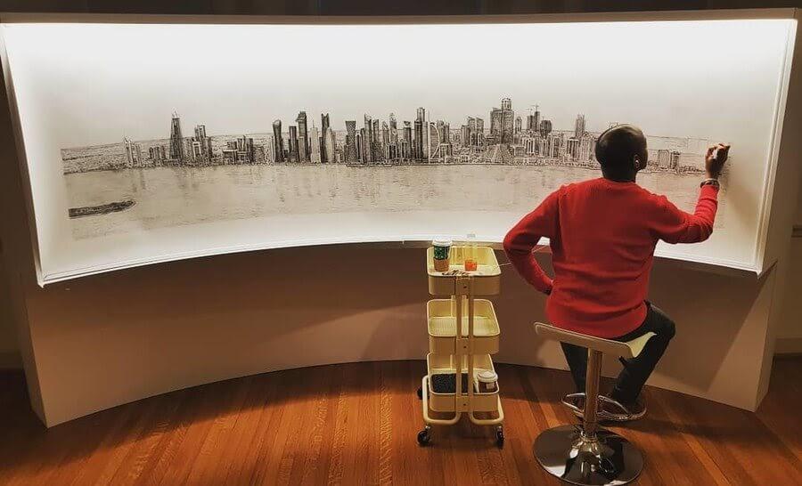 05-Doha-Qatar-Stephen-Wiltshire-Urban-Cityscapes-www-designstack-co