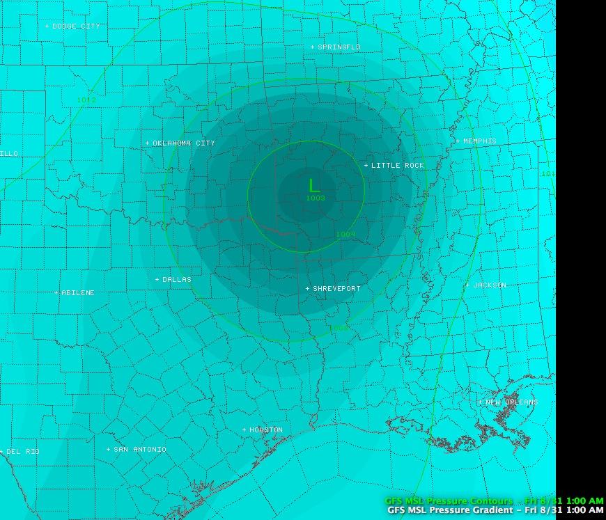 Arkansas Weather Blog: Isaac Still Has Eyes On Arkansas