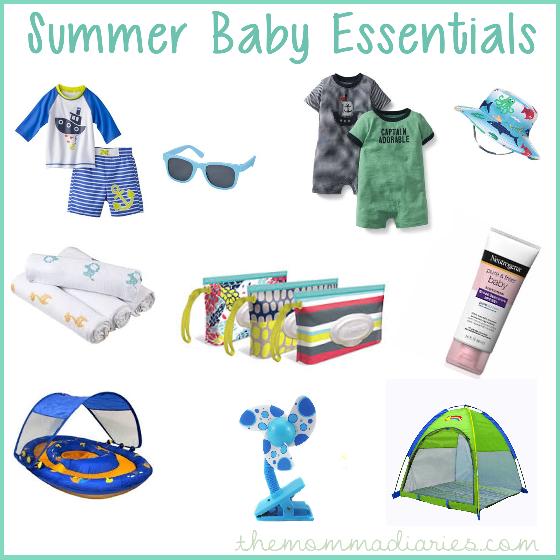 summer baby essentials #HuggiesMomStyle