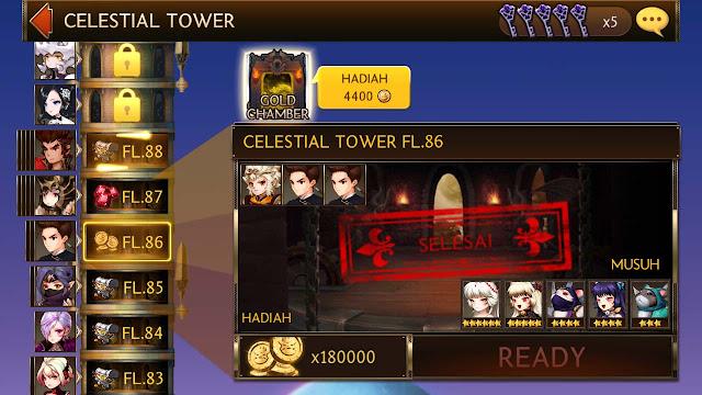 gold dari clestial tower