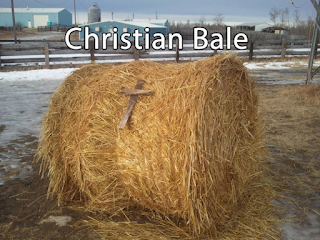 Christian bale funny religious pun picture