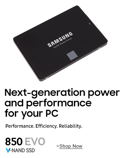 Samsung 850 EVO SSD - See on Amazon
