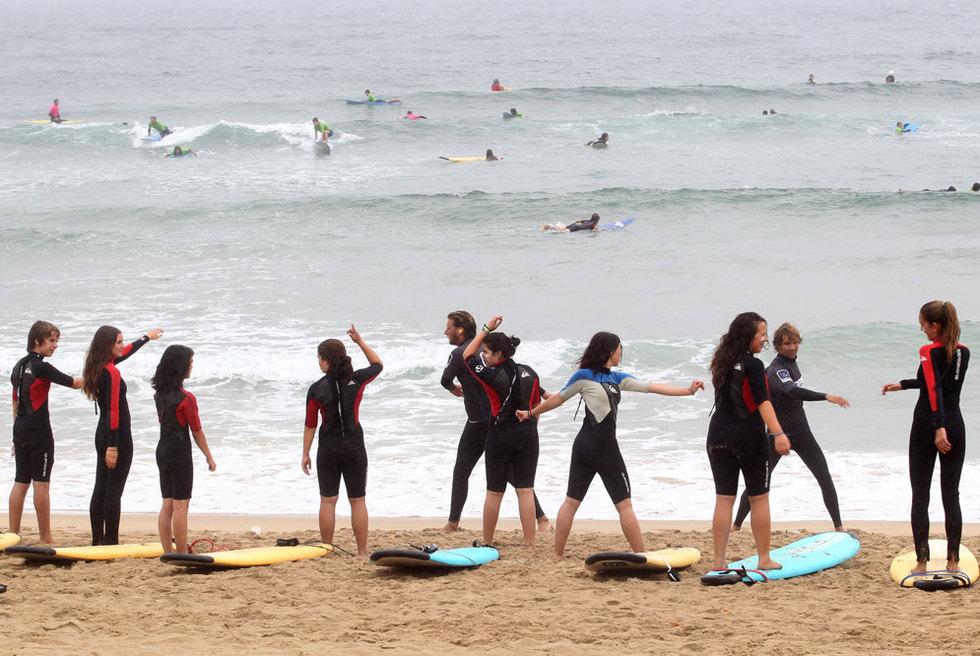 escuela surf zurriola