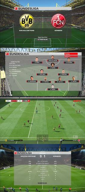 PES 2019 Scoreboard Bundesliga 2019 by Kitmaker Arthur Torres