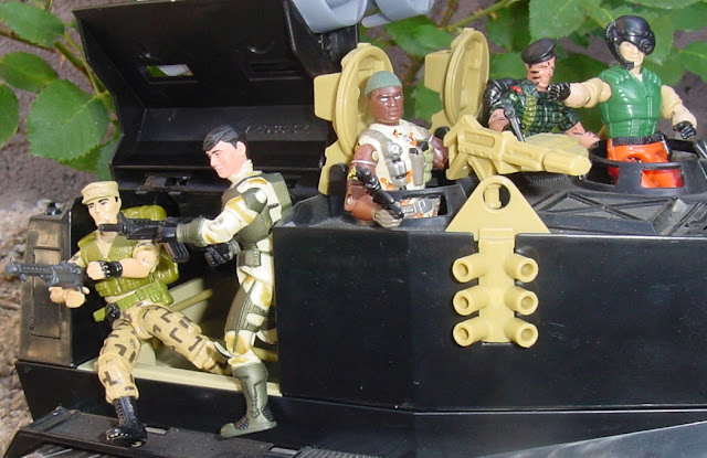 1989 Hot Seat, Raider, 2002 Night Rhino, Warthog, 2004, Anti Venom, Stalker, 1988, Repeater, Barricade