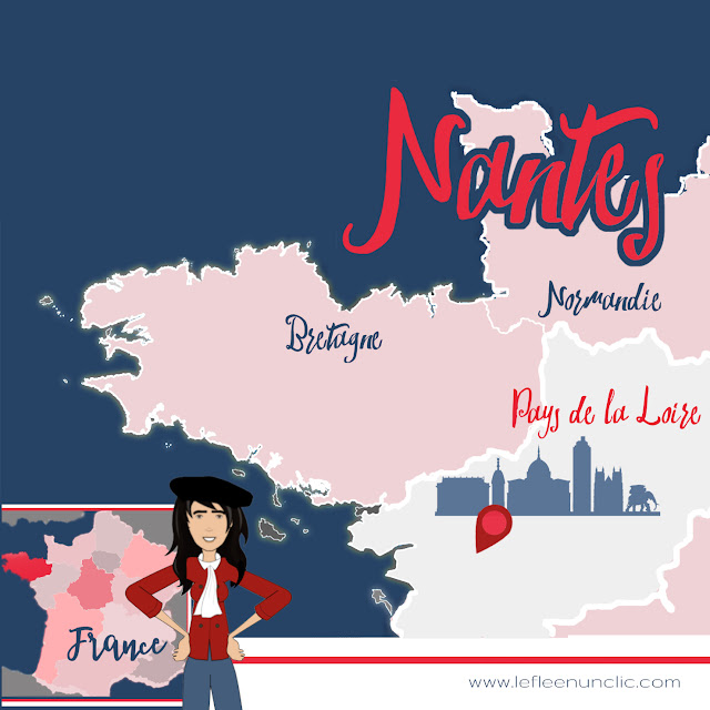 voyage, découvrez Nantes, Nantes, Pays de la Loire, Loire-Atlantique, France, FLE, le FLE en un 'clic'