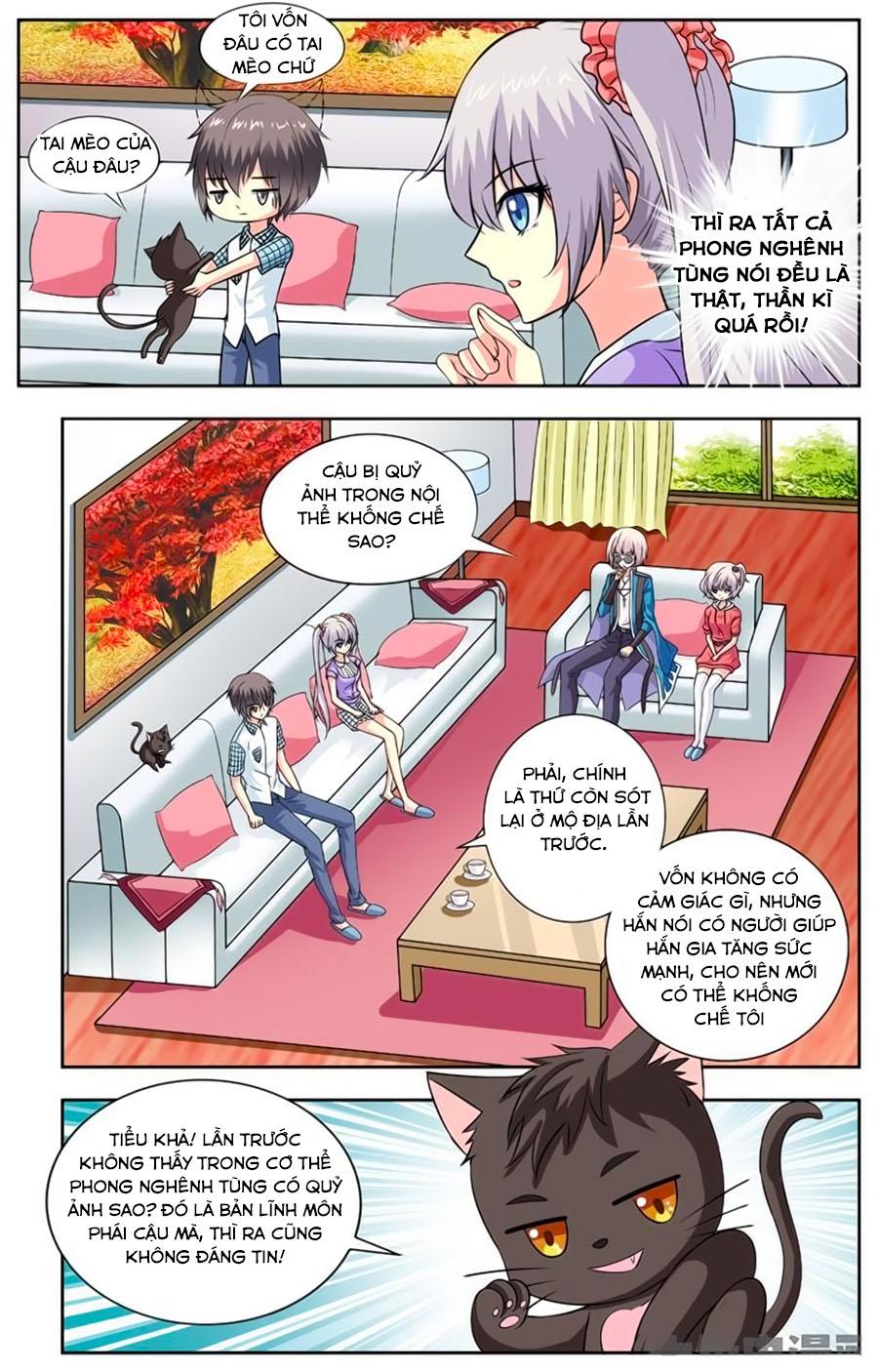 Nam Thần Của Tôi chap 95 - Trang 2