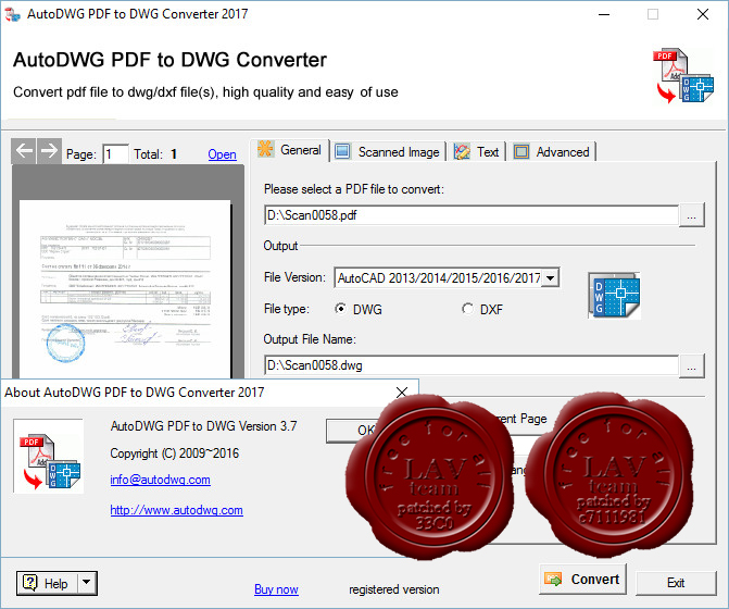 how to create a dwg from a pdf