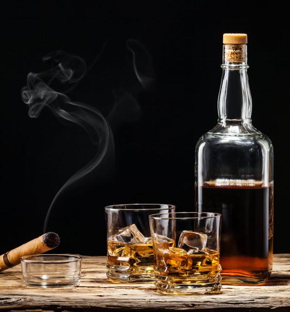 Rum eller whisky