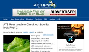 ATB - AllTechBuzz Blogger Template