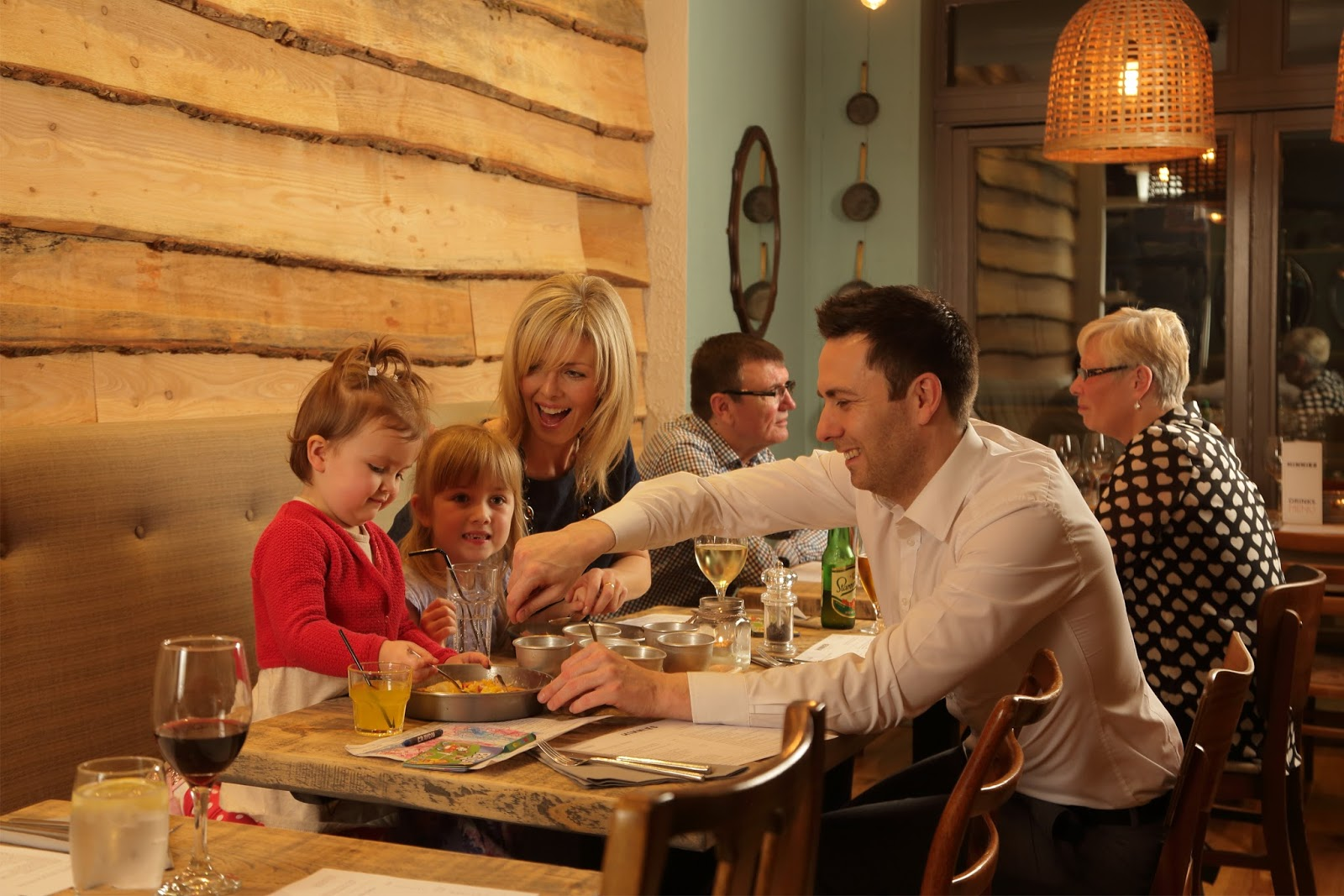 Family Weekend brunch menu at Hinnies Restaurant, Whitley Bay