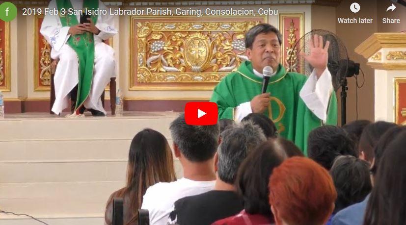 Father Fernando Suarez Healing Mass: 2019