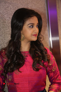 Actress Keerthi Suresh Stills at Remo Success Meet  0108.JPG