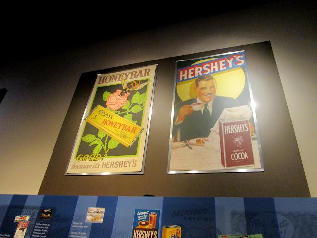 реклама шоколада Херши