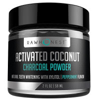 raw honest activated charcoal powder 1