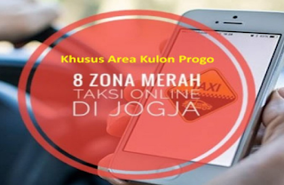 Zona Merah Ojol Gojek - Grab Wilayah Kulon Progo Yogyakarta