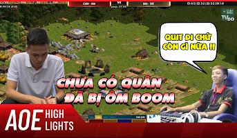 AoE Highlight | BiBi không thể tin Chim Sẻ thủ được pha ôm boom max binh này