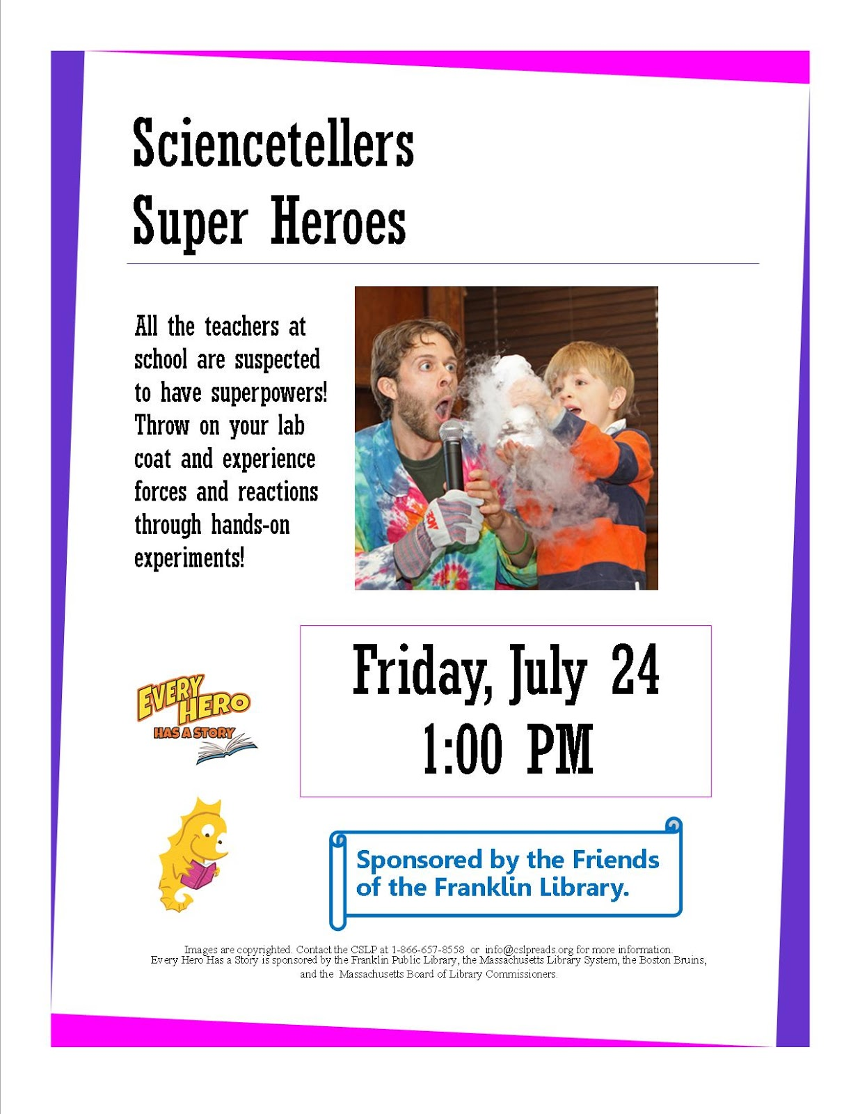 Franklin Library: Sciencetellers Super Heroes