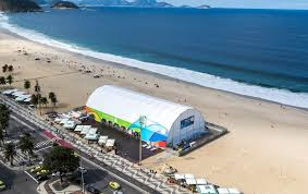 Rio 2016 Megastore Opened at Copacabana Beach
