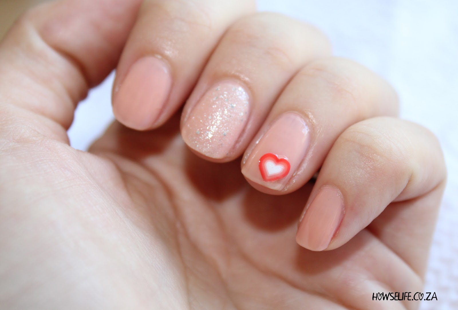 Howse Life: Work Appropriate Valentines Day Nail Art