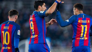 Barcelona Menang 1-0 di Kandang Real Sociedad (Video Gol)