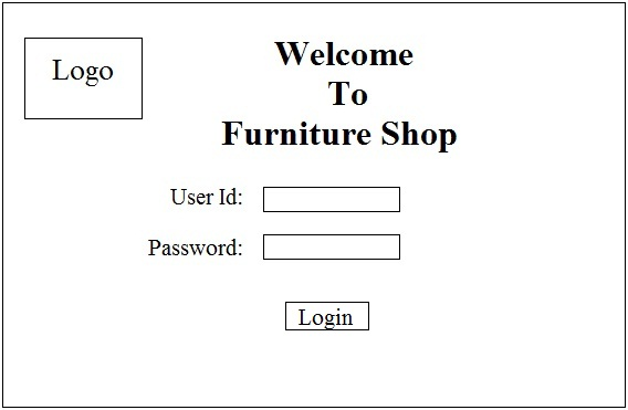 srs template for online shopping