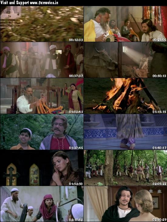 Kisna The Warrior Poet 2005 Hindi 480p HDRip 400mb