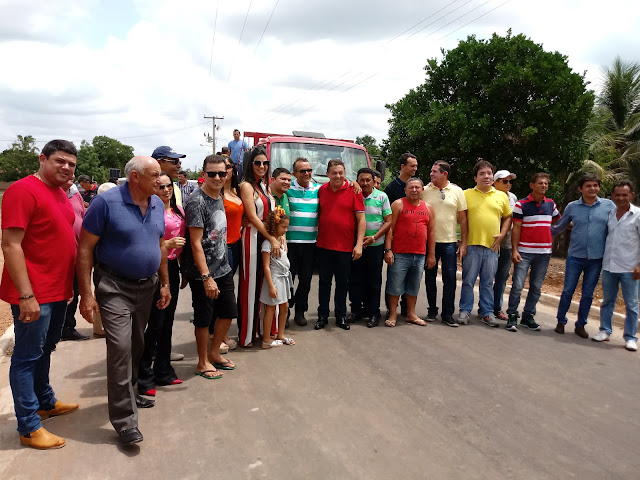 Prefeito Tema entrega mais uma importante obra de pavimentação asfáltica para o povo sertanejo