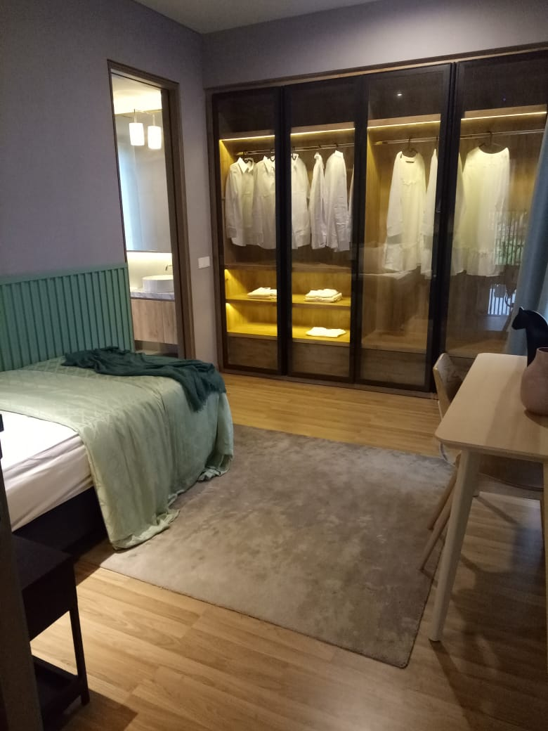 master room Rumah Caelus BSD
