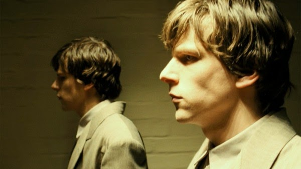 Jesse Eisenberg in Richard Ayoade's The Double