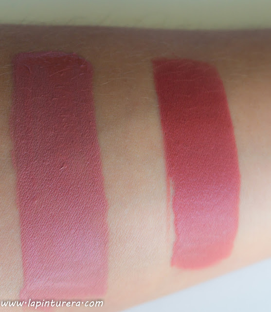 labiales supermatte swatches
