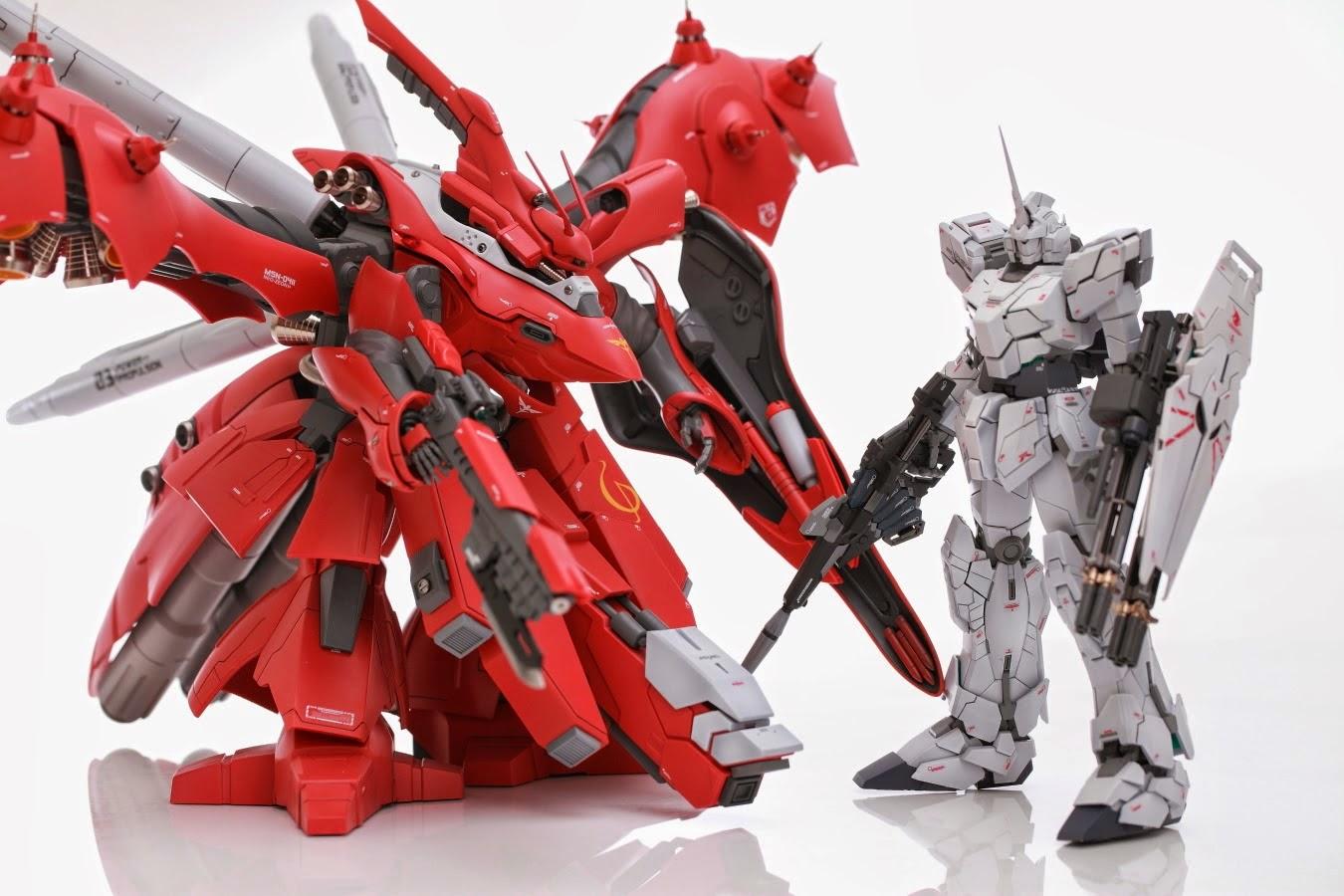 RC 1/100 Nightingale - Custom Build - Gundam Kits