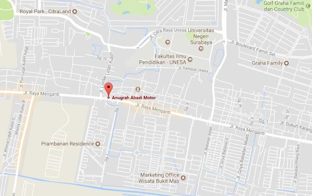 Dealer resmi Yamaha Anugrah Abadi Surabaya