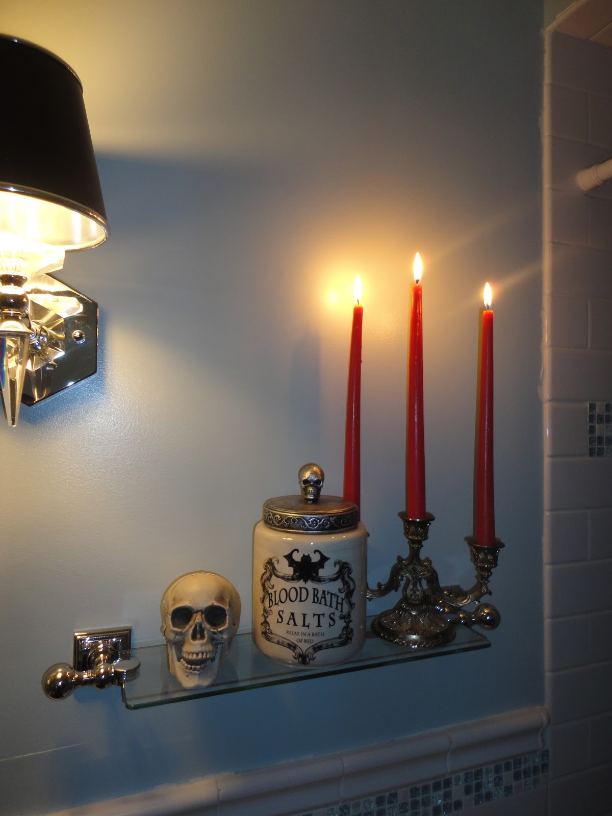 Skull Bathroom Decor: General Splendour : Autumn Window Box And Touches Of
