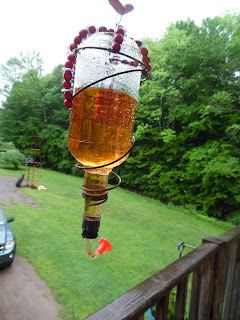 Hummingbird feeder DIY