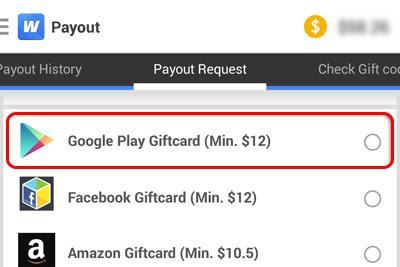 Tahap Ketiga : Melakukan Penarikan Dollar Dari Whaff Rewards Ke Google Wallet