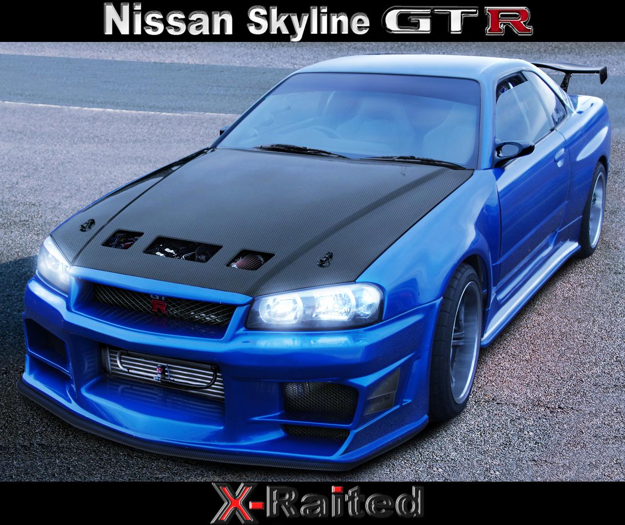 Cool Img Max: Nissan Skyline Gtr R34 Wallpaper