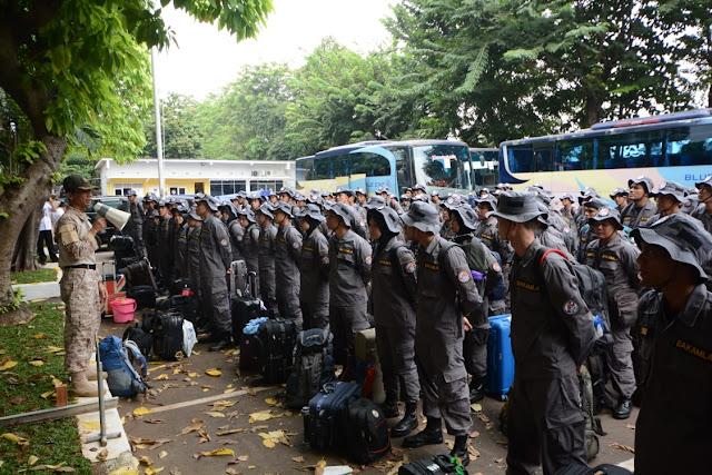 Bakamla RI Lepas CPNS Angkatan Ke-6 Menuju Latsar