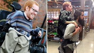 Παρέα φίλων κουβάλησαν τον ανάπηρο φίλο τους στην πλάτη σε όλο το ταξίδι τους στην Ευρώπη