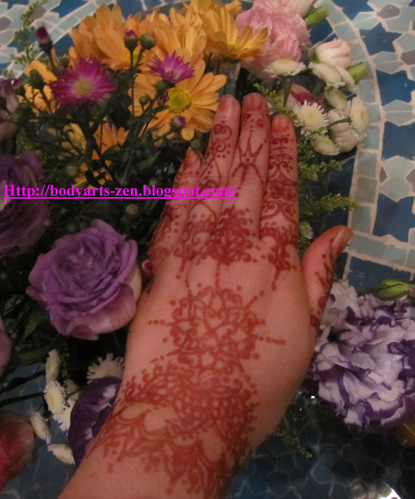 FACE PAINTING KL BODY ART HENNA TATTOO Natural Henna Or Inai