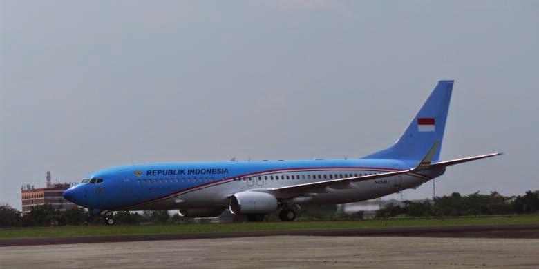 Foto Pesawat Kepresidenan Republik Indonesia