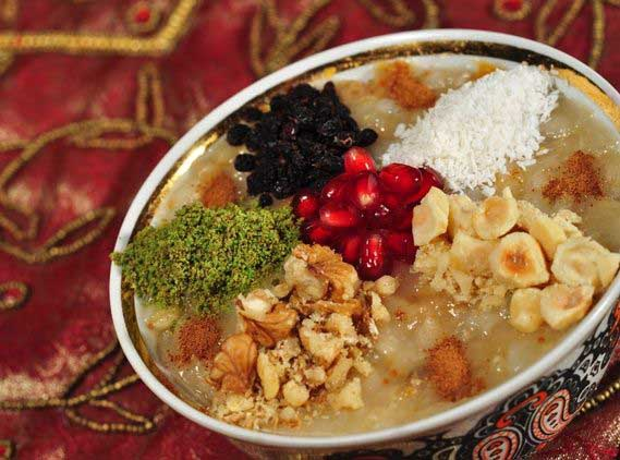 makanan khas turki ashure