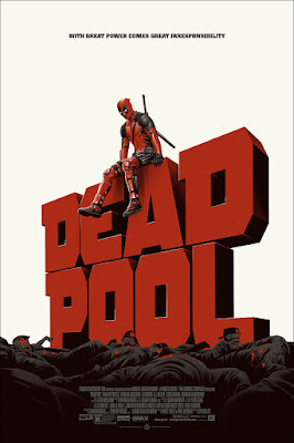 Deadpool (Version 1) Movie Poster Standard Edition Screen Print by Phantom City Creative & Mondo