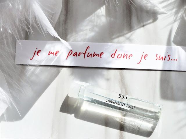 avis 555 de Carrément Belle, parfum femme, parfum homme, blog parfum, avis parfum, perfume review