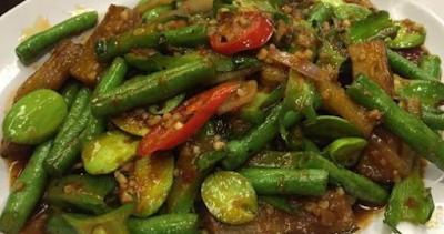 Hidangan Sahur Dan Buka Puasa: Resep Tumis Kacang Panjang Petai