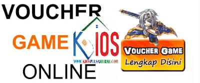 Voucher Game Online Murah Kios Pulsa